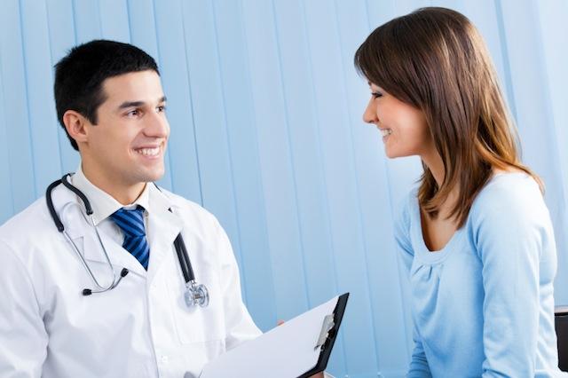 Se quer engravidar, procure um médico.